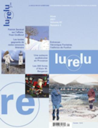 Lurelu. Vol. 43 No. 3, Hiver 2021