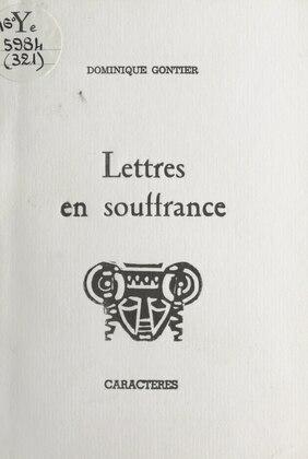 Lettres en souffrance