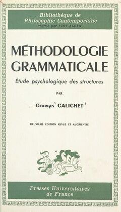 Méthodologie grammaticale