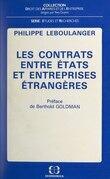 Les contrats entre États et entreprises étrangères