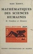 Mathématiques des sciences humaines (2)