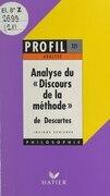 Discours de la méthode, 1637, Descartes