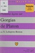 Premières leçons sur Gorgias, de Platon