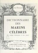 Dictionnaire des marins célèbres