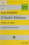 Les romans d'André Malraux