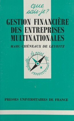 Gestion financière des entreprises multinationales