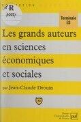 Les grands auteurs en sciences économiques et sociales