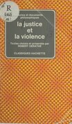 La justice et la violence