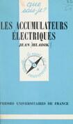 Les accumulateurs électriques