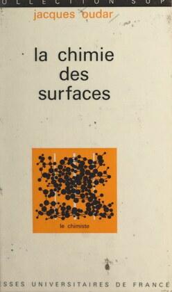 La chimie des surfaces