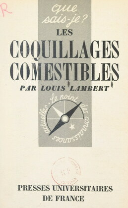 Les coquillages comestibles