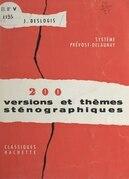 200 versions et thèmes sténographiques