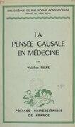 La pensée causale en médecine