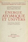 Énergie atomique et univers