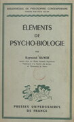 Éléments de psycho-biologie