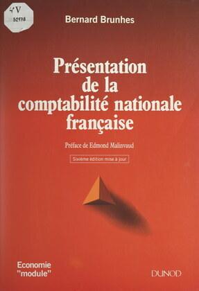 Présentation de la comptabilité nationale française
