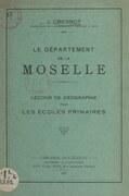 Le département de la Moselle