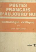 Poètes français d'aujourd'hui