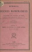 Géométrie sur les surfaces et les variétés algébriques