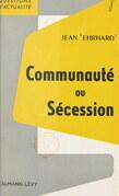 Communauté ou sécession