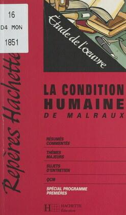 La condition humaine, de Malraux