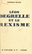 Léon Degrelle et le rexisme