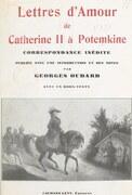 Lettres d'amour de Catherine II à Potemkine