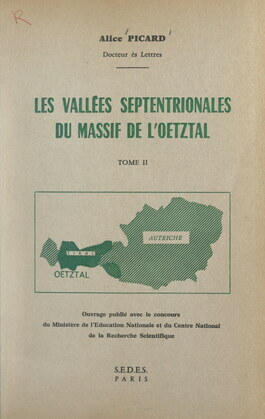 Les vallées septentrionales du massif de l'Œtztal (2)