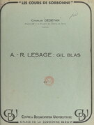 A.-R. Lesage : Gil Blas (1)