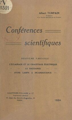 Conférences scientifiques (2)