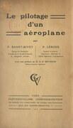 Le pilotage d'un aéroplane
