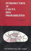 Introduction au calcul des probabilités