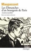 Les Dimanches d'un bourgeois de Paris et autres nouvelles