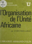 L'organisation de l'unité africaine