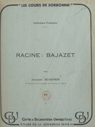 Racine : Bajazet
