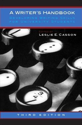 A Writer's Handbook, Third Edition