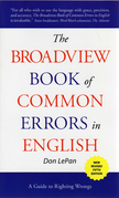 The Broadview Book of Common Errors in English, fifth edition