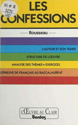 Les confessions, Rousseau