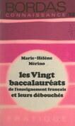 Les vingt baccalauréats de l'enseignement français