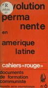 La révolution permanente en Amérique Latine