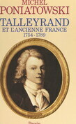 Talleyrand et l'ancienne France, 1754-1789