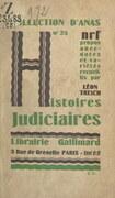 Histoires judiciaires