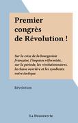 Premier congrès de Révolution !