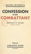 Confession d'un combattant