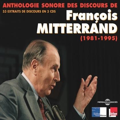 Anthologie sonore des discours de François Mitterrand (1981-1995)