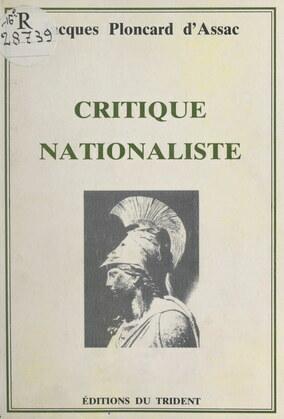 Critique nationaliste