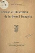 Défense et illustration de la beauté française
