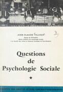 Questions de psychologie sociale (1)