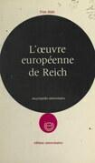 L'œuvre européenne de Reich