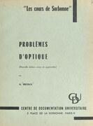 Problèmes d'optique